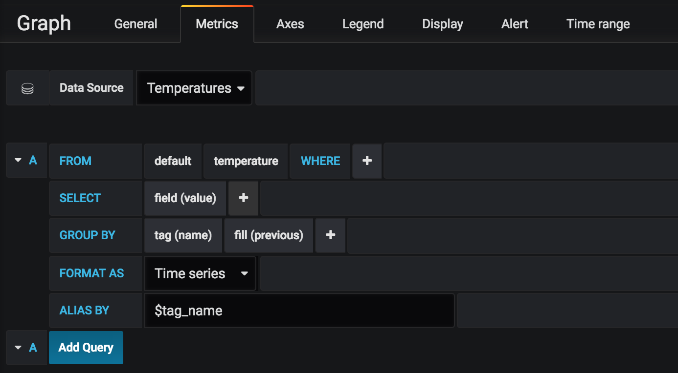 grafana - query